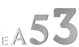 Números para fachada